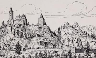 Wanderung zur Ruine Karlsfried