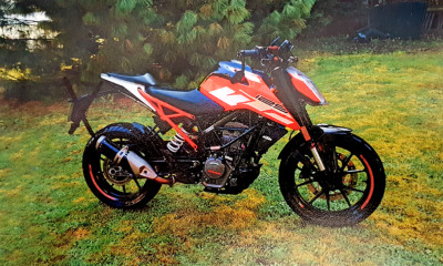 Motorrad gestohlen