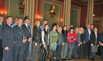 Litausche Delegation in Zittau zu Gast