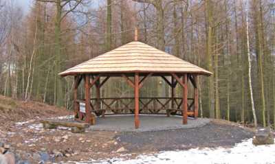Pavillon auf dem Gickelsberg