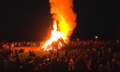 Lager- und Traditionsfeuer vorerst verboten