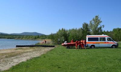 Wachsaison am  Olbersdorfer See