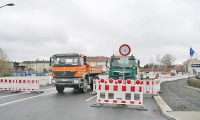 Bauarbeiten an der B96 in Zittau fortgesetzt