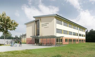 Start für Neubau der Oberschule