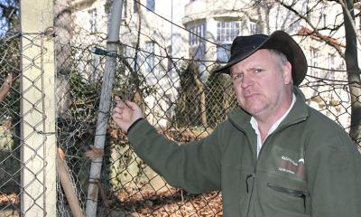 Bauboom im Tierpark: Zaun und Sonnendeck