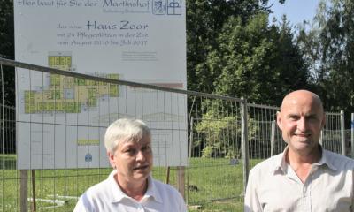Zwei neue Häuser: Martinshof investiert in seine Wohn-Infrastruktur