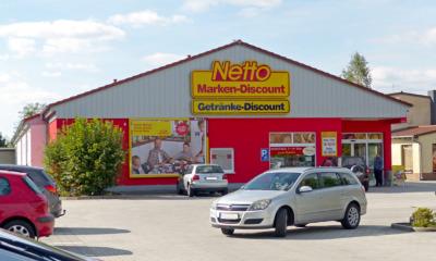 Netto plant neuen Markt nahe dem Stadtzentrum