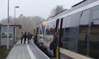 Fahren am Montag wieder Züge?