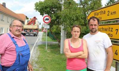 Großbaustelle lässt Dorfbewohner verzweifeln