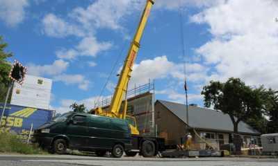 Neues Depot im Bau: Kommune setzt auf Nachwuchsansturm
