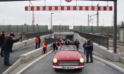 Krone-Tunnel und Magistrale eröffnet