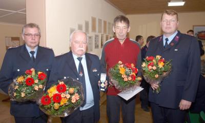 Vier Kameraden mit 110 Jahren