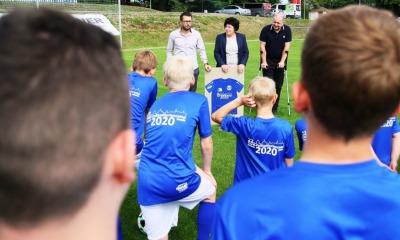 Lernen von den Großen: Fußballcamp eröffnet