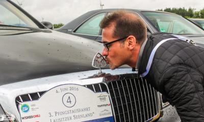Auto-Klassiker touren durch die Schlesische Lausitz
