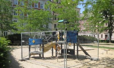 Baubeginn auf dem Lutherplatz
