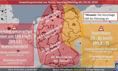 Wetterdienst warnt: Orkan rauscht heran