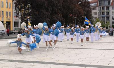 Die Schweden sind da