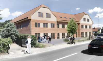 Neues Christliches Schulhaus für Oßling