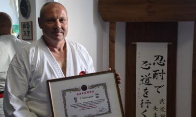 Der Weg ist auch mit 58 Jahren für den Karate-Meister das Ziel