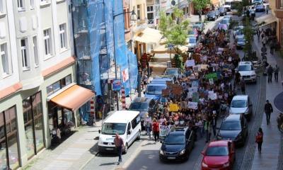 Schüler machen mobil gegen Erderwärmung