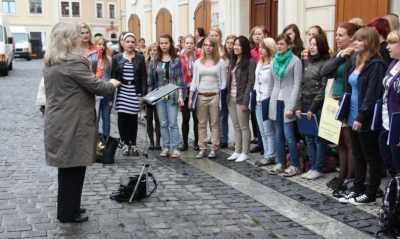 """Löbau singt zur """"Fête de la musique"""""""