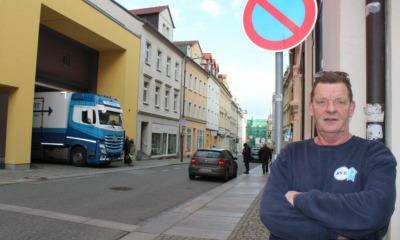 Ausgebremst an Bautzens heikelster Falschparkerstraße