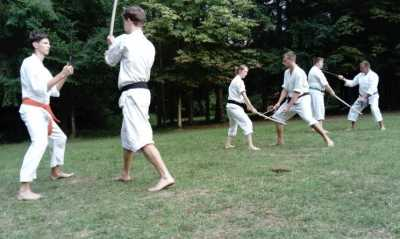 """Vier Tage Karate mit """"Nippon"""" am Werbellinsee"""