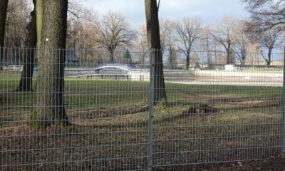 Ein Zaun für das Pulsnitzer Walkmühlenbad
