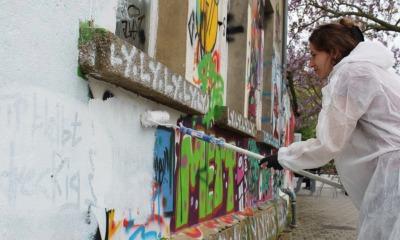 Bautzen bereit für Graffiti-Wettstreit