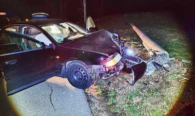 Stromversorgung unterbrochen, Fahrer nahm Reißaus
