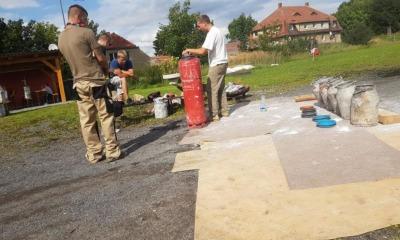 Das Osterschießen in Berthelsdorf besitzt Kultstatus