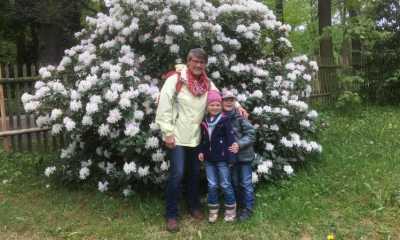 Zittauer Tierpark in voller Blütenpracht