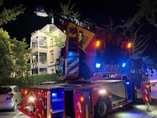 Mehrere Verletzte nach Balkoneinsturzin Bautzen