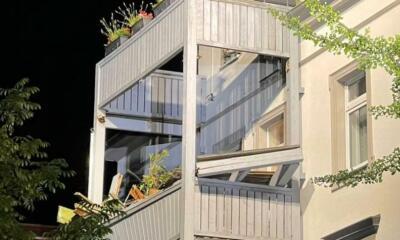 Polizei forscht zu Balkonabsturz in Bautzen