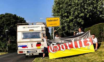 WM-Werbung für Görlitz