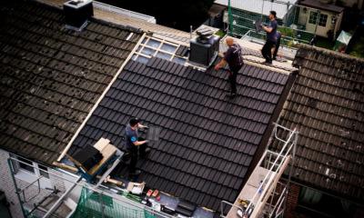 Tarifverhandlung für Dachdecker