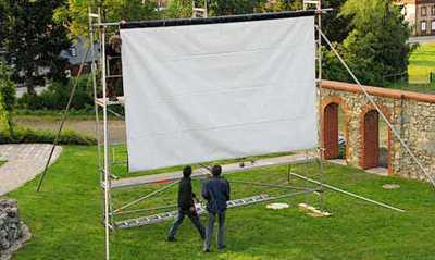 Amerikanische Komödie zum Open-Air-Kino