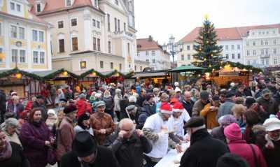 Die Stadt Löbau sagt den Weihnachtsmarkt ab