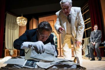 """Im Zittauer Theater: """"Charlie Chaplin trifft Orson Welles"""""""